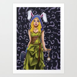 Alice Steampunk Art Print