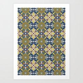Mosaic Art Print