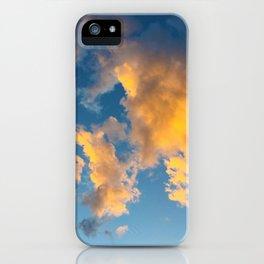 Clouds_002 iPhone Case