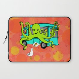 Flock of Gerrys Octo's Tacos by Seasons Kaz Sparks Laptop Sleeve