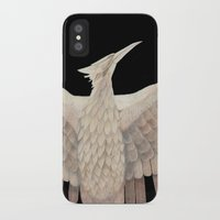 mockingjay iPhone & iPod Cases featuring The Mockingjay. by Lithh