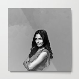 Frieda Pinto - Celebrity Art Metal Print