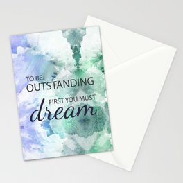 Be Outstanding Stationery Cards