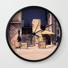 Cockatoo Island Coffee Shop Wall Clock