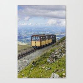 Train To Snowdon Canvas Print