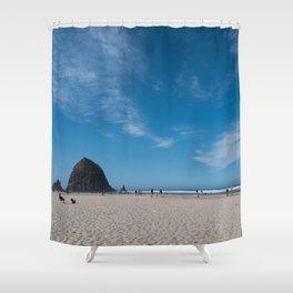Haystack Rock, Cannon Beach Shower Curtain