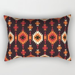 American Native Pattern No. 172 Rectangular Pillow