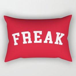 Freak Funny Quote Rectangular Pillow