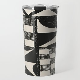 Tapa | Barkcloth | Pacifica | Pasifica | Abstract Patterns | Pacific Islands | Tribal | Ethnic | Travel Mug
