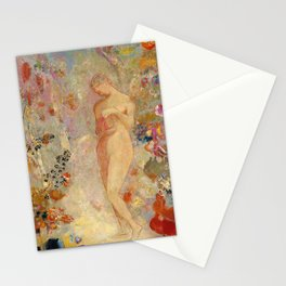 Pandora - Odilon Redon (1914) Stationery Cards