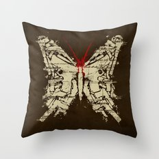 Deadly Species Throw Pillow