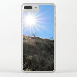 Mountainside for the Sun Clear iPhone Case