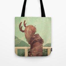 Last Year's Antlers Tote Bag