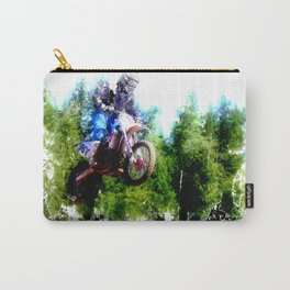 """Dare to Fly"" Motocross Racer Carry-All Pouch"
