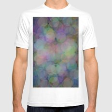 Colors#6 MEDIUM Mens Fitted Tee White