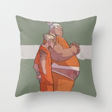 JAIL JUNKERS Throw Pillow