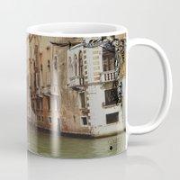 venice Mugs featuring Venice by Caroline Fogaça