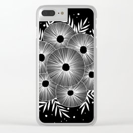 Round And Round Clear iPhone Case