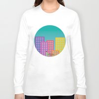 metropolis Long Sleeve T-shirts featuring Metropolis by Gellygen Creative