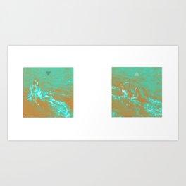 """my alpha , my omega"" Art Print"