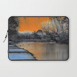 Lake Wendouree Winter Sunset Laptop Sleeve