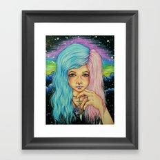 Leda Framed Art Print