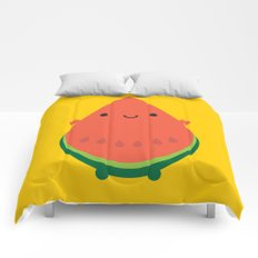Kawaii Watermelon Comforters