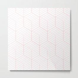 ZADA ((pastel pink)) Metal Print