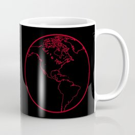 Black Globe 2 Coffee Mug