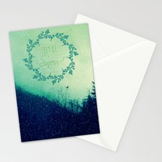 Let it Snow in the Mountains! Stationery Cards