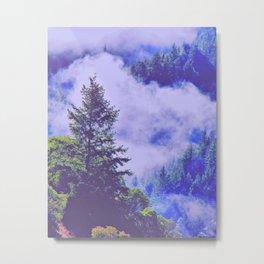 Pure Purple Mists of Northern California Metal Print