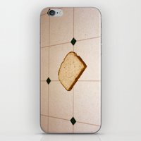 bread iPhone & iPod Skins featuring bread by jacob rattin