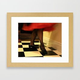 And We Dance With SM Framed Art Print