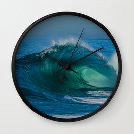 Mermaid's Tail Wall Clock
