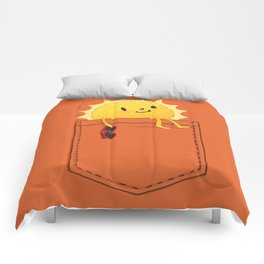 Pocketful of sunshine Comforters