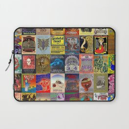 Deadhead Concert Posters Laptop Sleeve
