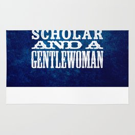 A Scholar and a Gentlewoman Rug