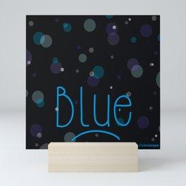 Feeling Blue Mini Art Print