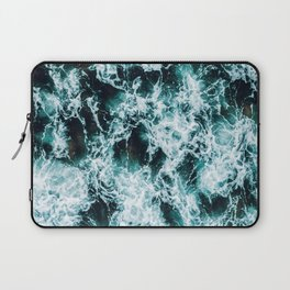 In The Midst of the Raging Sea Laptop Sleeve