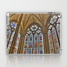 Windows of Westminster Abbey Laptop & iPad Skin