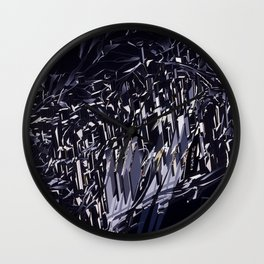 Zaha Hadid - The Peak - 1983 Wall Clock
