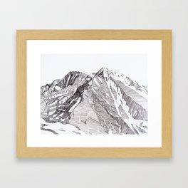 Sopris Summit Framed Art Print