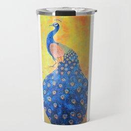 Peacock - The Protector Travel Mug