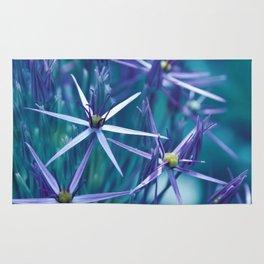 Allium Blue Rug