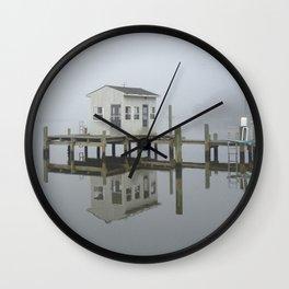 Eastern Branch Boat House Wall Clock