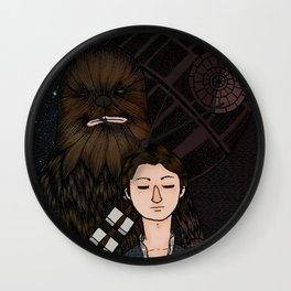 Han&Chewie Wall Clock