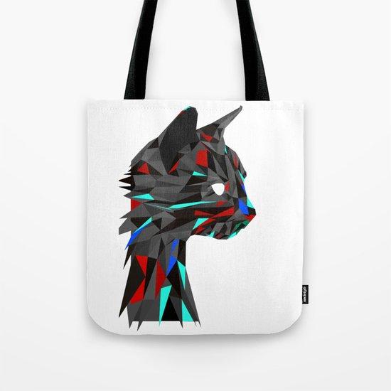 Focused Cat Tote Bag