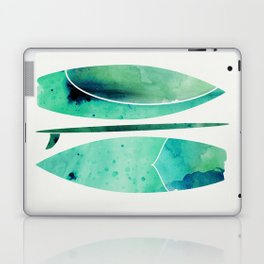 Watercolor Surfboards Laptop & iPad Skin