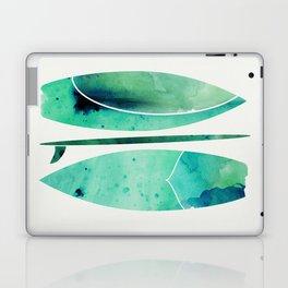 Watercolor Surfboards Laptop & iPad Skin