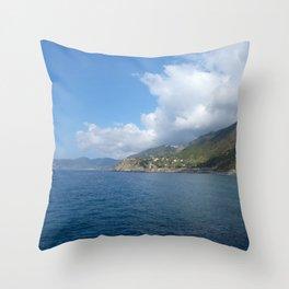 Italian Coast Throw Pillow